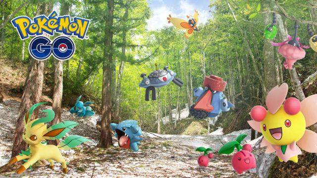 Rilasciate nuove esche speciali e i Pokémon mancanti della quarta generazione!