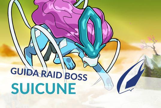 Guida Raid Boss di Suicune