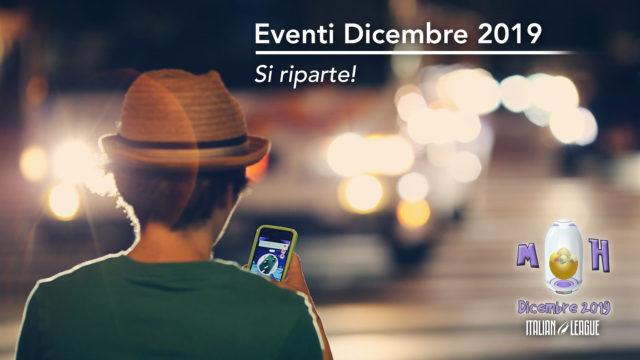 Eventi Italian League Dicembre 2019