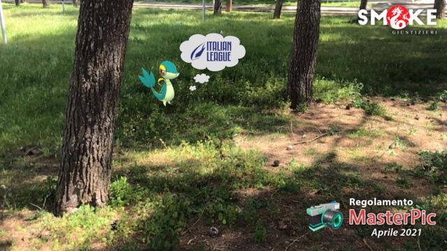 Masterpic in erba! È il turno di Snivy!